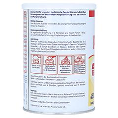 PALENUM Vanille Pulver 450 Gramm - Rechte Seite