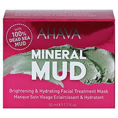 AHAVA Brightening & Hydration Facial Treatm.Mask 100 Milliliter - Vorderseite