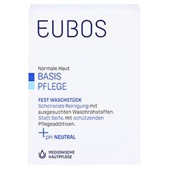 EUBOS FEST blau unparfümiert 125 Gramm - Vorderseite