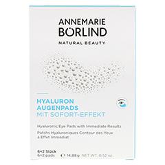 ANNEMARIE BÖRLIND Hyaluron Augenpads 6 Stück - Vorderseite