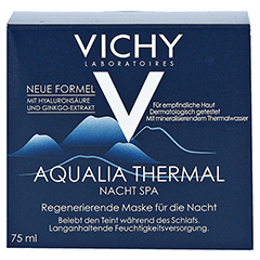 VICHY AQUALIA Thermal Nacht Spa 75 Milliliter - Vorderseite