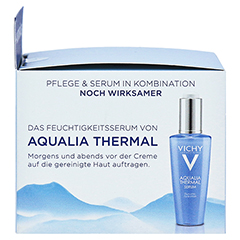VICHY AQUALIA Thermal Dynam.Pflege leicht + gratis Vichy Mineral 89 Mini 50 Milliliter - Rechte Seite