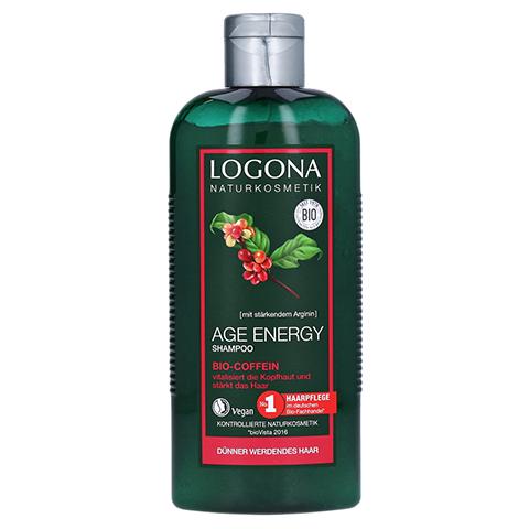 LOGONA Age Energy Shampoo Bio-Coffein 250 Milliliter