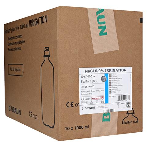NACL 0,9% B.Braun Ecoflac plus Spüllösung 10x1000 Milliliter