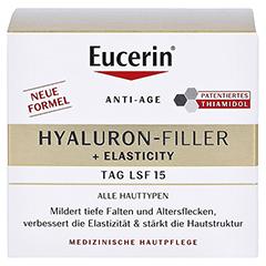 EUCERIN Anti-Age Elasticity+Filler Tagescreme + gratis Eucerin 7-Tage Serum-Kur Hyaluron Filler 50 Milliliter - Vorderseite