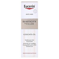 EUCERIN Anti-Age Elasticity+Filler Gesichts-Öl + gratis Eucerin HyaluronPlus Winterfreude 30 Milliliter - Vorderseite