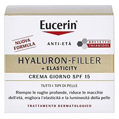 EUCERIN Anti-Age Elasticity+Filler Tagescreme + gratis Eucerin 7-Tage Serum-Kur Hyaluron Filler 50 Milliliter - Rückseite