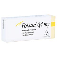 Folsan 0,4mg 100 Stück N3