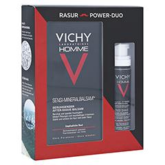 Vichy Homme Set Rasierschaum & After-Shave-Balsam 1 Packung