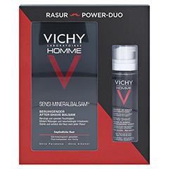 Vichy Homme Set Rasierschaum & After-Shave-Balsam 1 Packung - Vorderseite