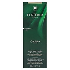 René Furterer Okara Blond Leuchtkraft Shampoo 200 Milliliter - Rückseite