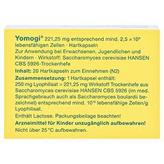Yomogi 20 Stück N2 - Rückseite