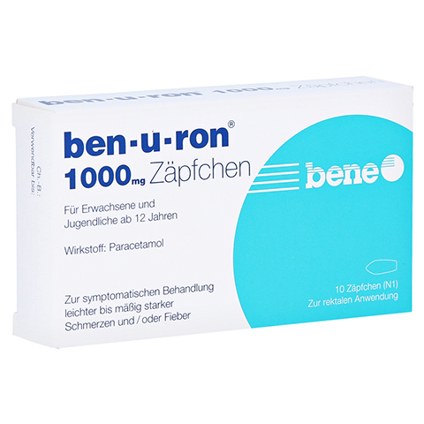 Ben-u-ron 1000mg 10 Stück N1