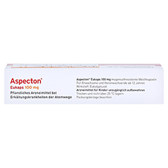 Aspecton Eukaps 100mg 20 Stück - Oberseite
