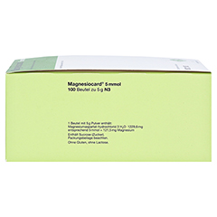 Magnesiocard 5mmol 100 Stück N3 - Linke Seite