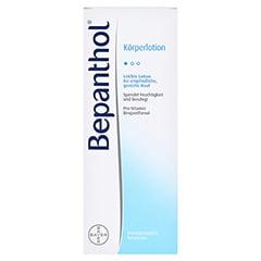 Bepanthol Körperlotion Flasche 200 Milliliter - Vorderseite