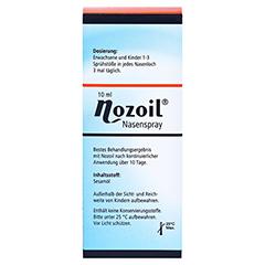 Nozoil 10 Milliliter - Rückseite