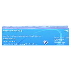 Akneroxid 50mg/g 50 Gramm N2 - Oberseite