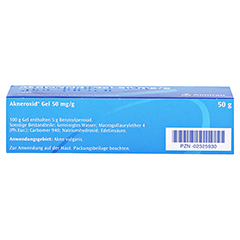 Akneroxid 50mg/g 50 Gramm N2 - Unterseite