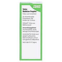 Salus Baldrian-Tropfen 50 Milliliter - Rückseite