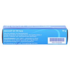 Akneroxid 100mg/g 50 Gramm N2 - Unterseite