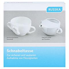 SCHNABELTASSE Kunststoff 1 Stück - Vorderseite