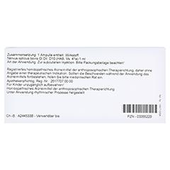 NERVUS OPTICUS GL D 10 Ampullen 10x1 Milliliter N1 - Rückseite