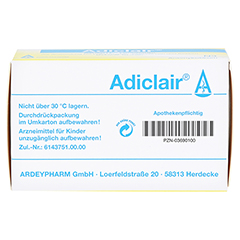 Adiclair 100 Stück N3 - Unterseite