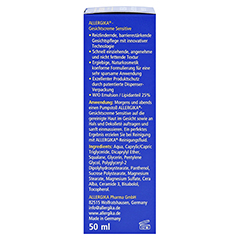 Allergika Gesichtscreme Sensitive 50 Milliliter - Linke Seite