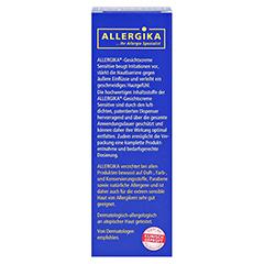 Allergika Gesichtscreme Sensitive 50 Milliliter - Rückseite