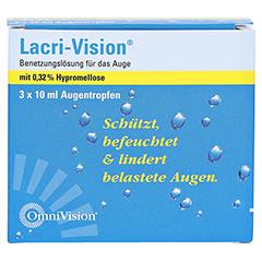 LACRI-VISION Augentropfen 3x10 Milliliter - Vorderseite