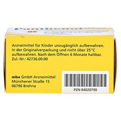 PANTHENOL 100 mg Jenapharm Tabletten 20 Stück N1 - Unterseite