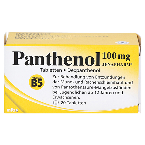 panthenol lutschtabletten