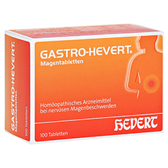 GASTRO-HEVERT Magentabletten 100 Stück N1
