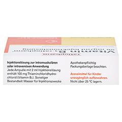 Vitamin B1-ratiopharm 50mg/ml Injektionslösung 5x2 Milliliter N1 - Oberseite