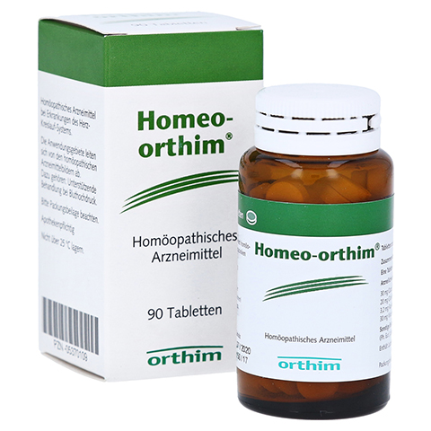 HOMEO ORTHIM Tabletten 90 Stück N1