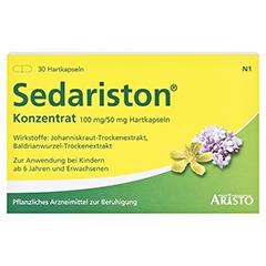 Sedariston Konzentrat 30 Stück N1 - Vorderseite