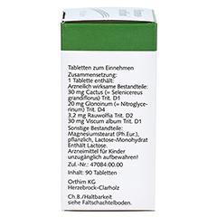 HOMEO ORTHIM Tabletten 90 Stück N1 - Rechte Seite