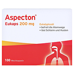 Aspecton Eukaps 200mg 100 Stück - Vorderseite