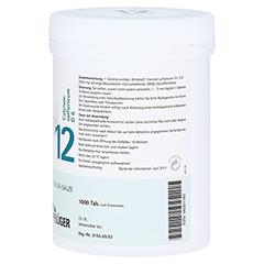 BIOCHEMIE Pflüger 12 Calcium sulfuricum D 6 Tabl. 1000 Stück - Linke Seite