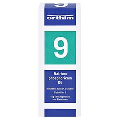 BIOCHEMIE Globuli 9 Natrium phosphoricum D 6 15 Gramm N1 - Vorderseite