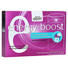 ENERGY-BOOST Orthoexpert Trinkgranulat 7x11 Gramm