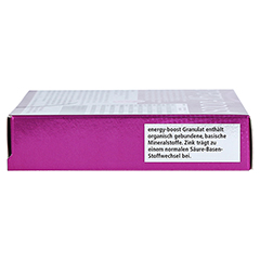 ENERGY-BOOST Orthoexpert Trinkgranulat 7x11 Gramm - Linke Seite