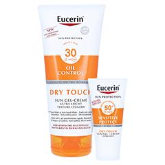 EUCERIN Sun Gel-Creme Oil Control Body LSF 30 + gratis Eucerin Sun Oil Control Body LSF50+ 200 Milliliter