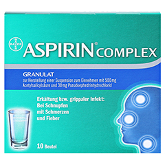 ASPIRIN COMPLEX 10 St�ck N1 - Vorderseite