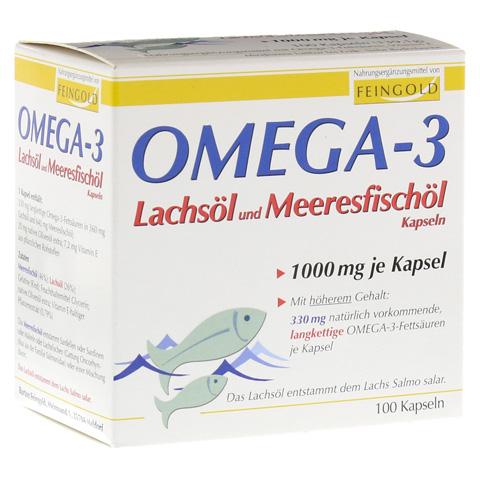 OMEGA 3 Lachs�l und Meeresfisch�l Kapseln 100 St�ck