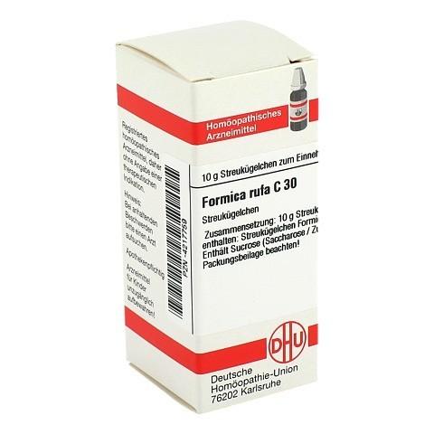 FORMICA RUFA C 30 Globuli 10 Gramm N1