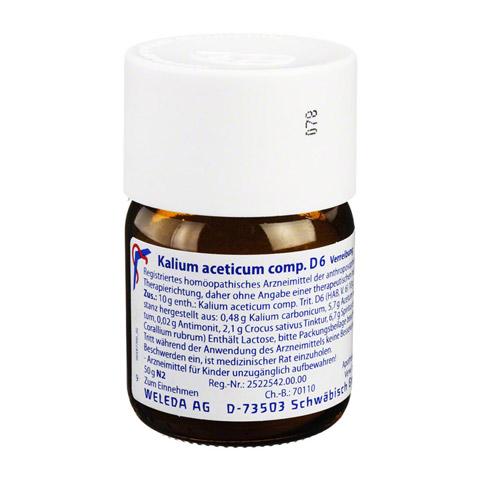 KALIUM ACETICUM comp.D 6 Trituration 50 Gramm N2