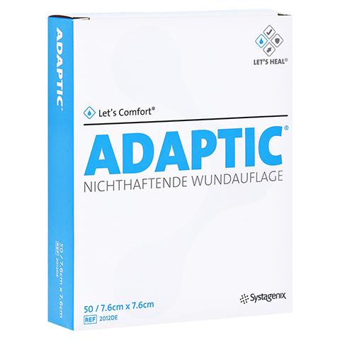 ADAPTIC 7,6x7,6 cm feuchte Wundauflage 2012DE 50 St�ck