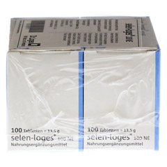 SELEN LOGES 100 NE Tabletten 200 St�ck - Linke Seite